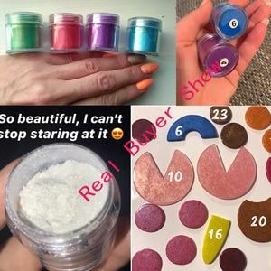 Image 5 - 10Ml 24สีMica Pigments ~ ธรรมชาติPearlescent Micaผง ~ Metallic Dyeสำหรับเล็บเครื่องสำอางค์ภาษาโปลิชคำสบู่