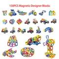 Hot Sale!!! Mini Models & Building Toy Magnetic Designer Building Blocks Magnet Game Plastic Bricks DIY Technic Enlighten Blocks