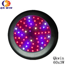 New generation UFO Led grow light 180W built With 60pcs 3W leds for greenhouse lighting dropshipping(China)