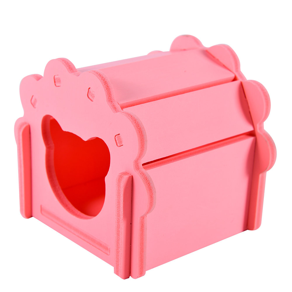 pet house for chinchillas cage for rats Guinea pig cavies carrier accessories for hamster hammock rat small animals supplies rabbit hutch cage hamster pink (4)