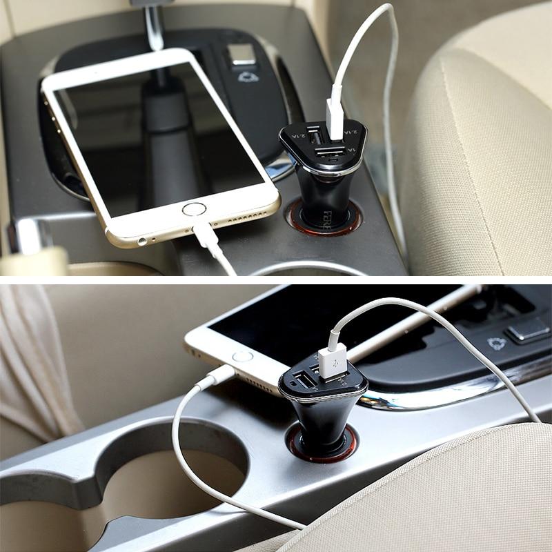 Punjenje USB auto punjača Univerzalni auto-punjač 5,2A USB punjač - Oprema i rezervni dijelovi za mobitele - Foto 6