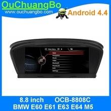Ouchuangbo android 4.4 estéreo del coche de radio multimedia para E60 E61 E63 E64 E90 E91 E92 E93 2003-2010 con quad core wifi BT gps navi