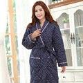 Roupões de Inverno de espessura mulheres Pijamas Mujer Inverno roupões para as mulheres Plus Size longo Robe de algodão camisa de noite Kigurumi pijama