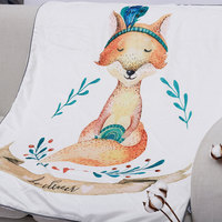 Large Baby Blanket Infant Bebe Double Side Swaddle Wrap Stroller Cartoon Blanket HD Print Newborn Baby Bedding Photography Props