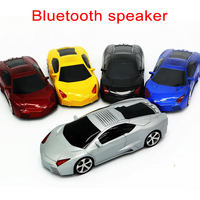 Bluetooth Car Shape Speaker USB TF FM Radio USB MP3 Music Player Stereo Speakers Bass Funny