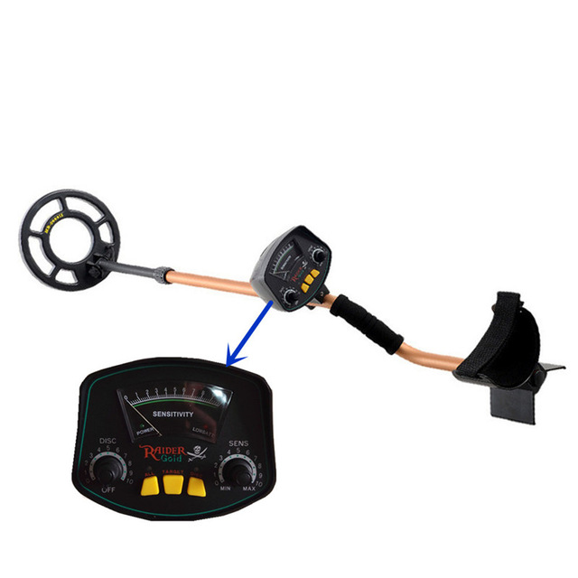 MD-3009II Metal Detector Gold Detector De Metais Detecteur De Metaux Detector De Metal Ouro Metaaldetector Finder Hunter Coin(China)