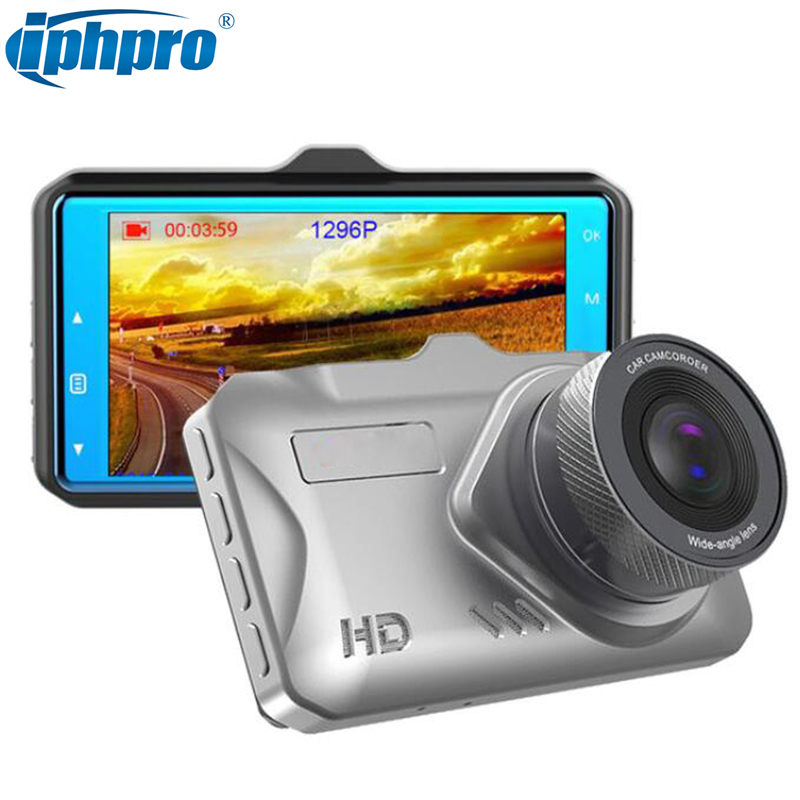 3 IPS Car DVR Super Night Vision 1296P Video Camera ADAS Full HD 1080P Car Recorder Dashcam 170 Degree autoregistrator