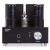 Трубный усилитель для наушников APPJ PA1502A  HIFI EXQUIS 6n4 (12ax7) 6P6P (6v6)  ламповая гарнитура с трубкой