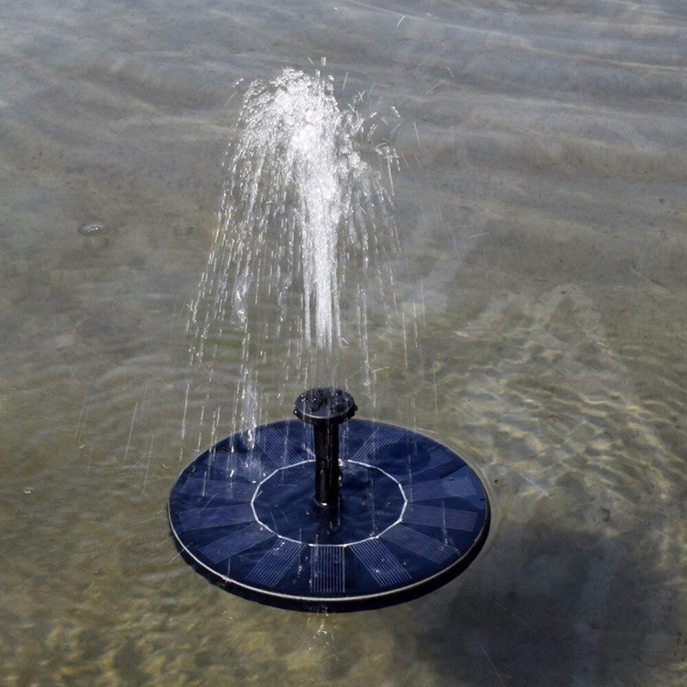 Premium Quality 7v Floating Water Pump Solar Panel Garden