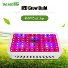 цена на 900W LED Plant Grow Light Full Spectrum palnt grow lamp Double Chips For Indoor Plants greenhouse Hydroponics Seed and flowering
