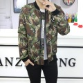 Winter Men Short Down Parka Coat Print Camouflage Military Wellensteyn Jackets Army Green/Gray/Red Doudoune Homme Hiver Marque