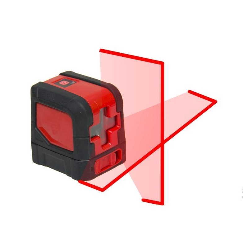 2 Laser Cross Lines Mini Style Self-Leveling Laser Level With Adjustable Mounting Clamp thyssen parts leveling sensor yg 39g1k door zone switch leveling photoelectric sensors