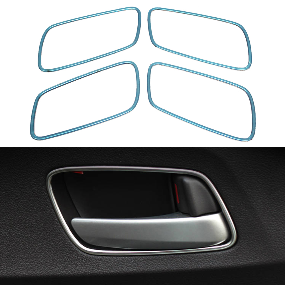 Car Auto Accessories Inner Door Handle Cover Inside Door Protector Trim For Honda Crv Cr-V 2012 2013 2014 Stainless Steel 4pcs