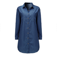 Womens-Loose-Long-Sleeve-Denim-Dress-2