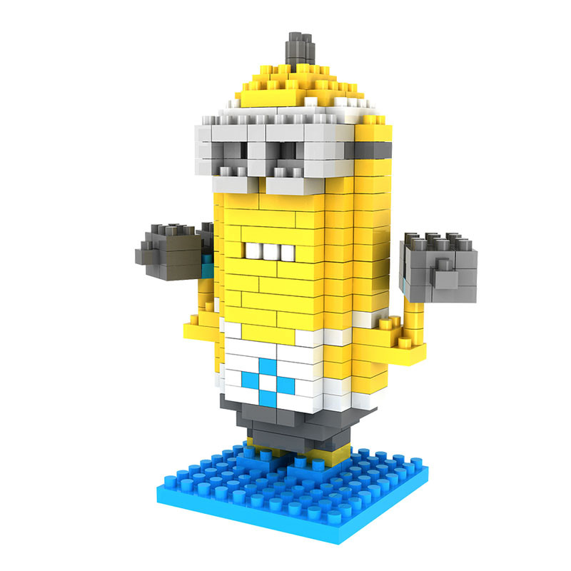 Despicable Me Minions Action Figure Building Blocks