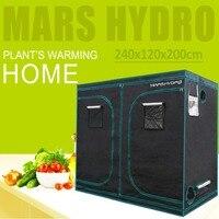 1680D Mars Hydro 240X120X200 см Крытый светодиодный растительный тент комнатные для выращивания система нетоксичный растение комнатный Крытый сад водо