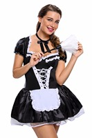 M XXXL Plus Size Late Nite Maid Outift Hot Selling Stylish Fantasy Cosplay Hallowmas French Charming