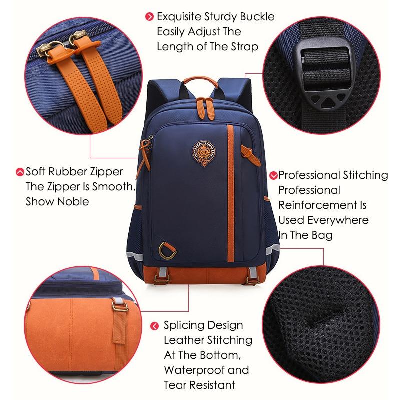 School Bags for Teenage Boys Girls Waterproof Primary School Backpack Junior Schoolbag Student Book Bag Kids Children Backpacks