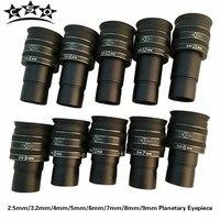 2,5 мм/3,2 мм/4 мм/5 мм/6 мм/7 мм/8 мм/9 мм SWA 58 градусов TMB планетарный II окуляр широкоугольный телескоп астрономические аксессуары 1,25