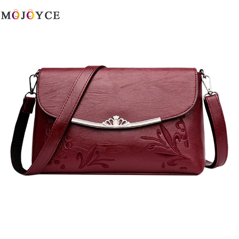 Simple Pure Women Handbags Flap PU Leather Shoulder Bag Office Lady Elegant Clutch bolsos mujer de marca famosa 2018 1
