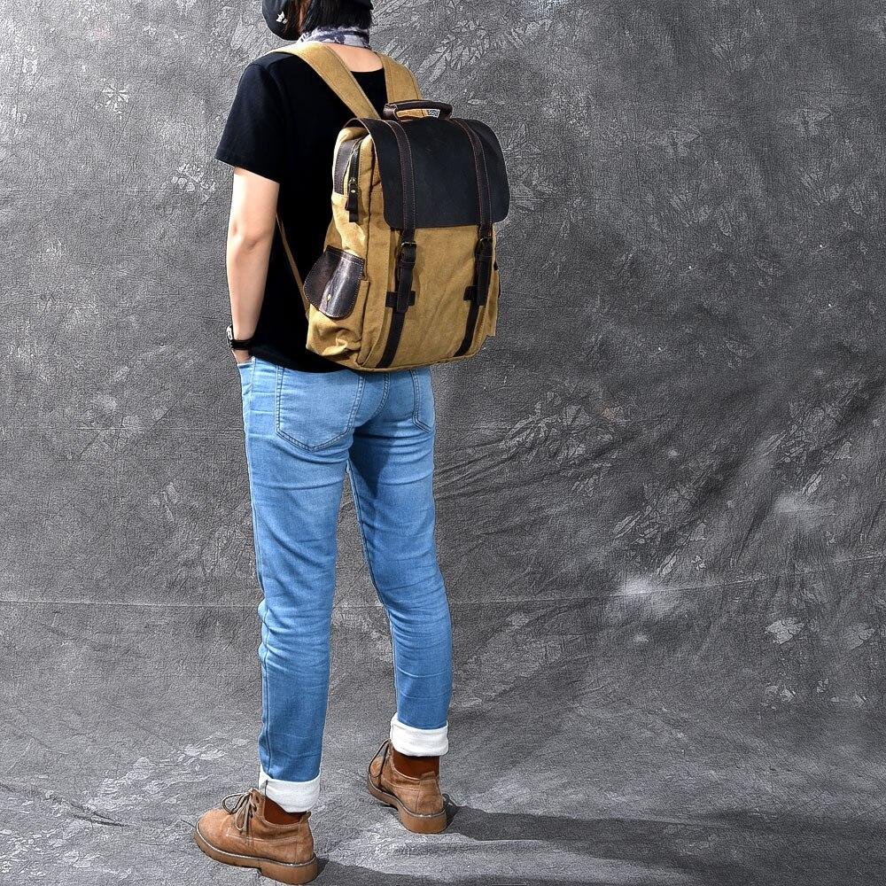 BOPAI, брендовый Многофункциональный рюкзак для путешествий, сумка, большая вместительность, наплечная сумка, рюкзак для ноутбука, модный муж... - 4