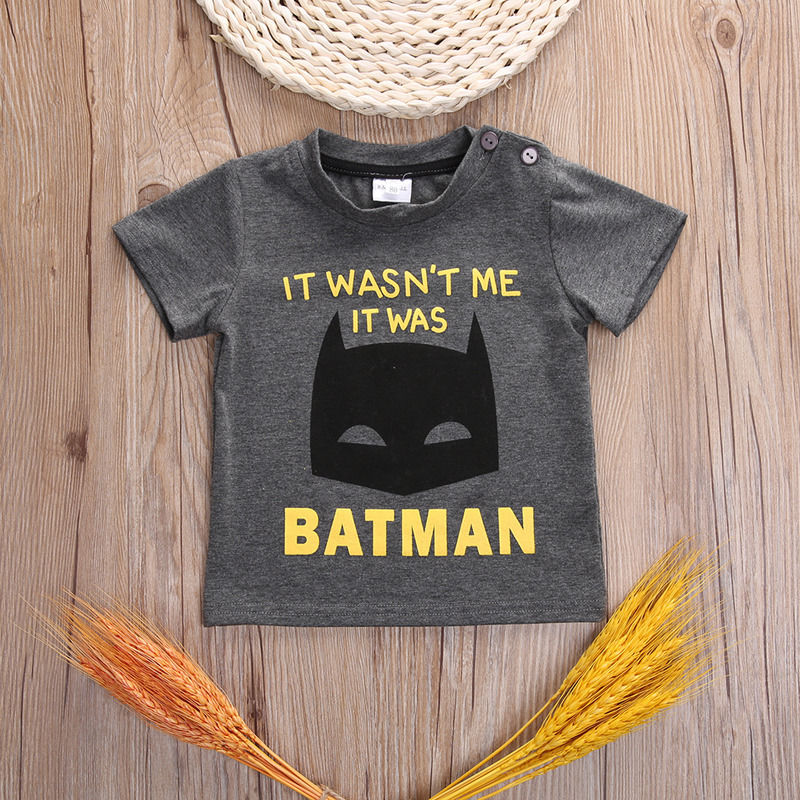T-Shirts-Toddler-Infant-Baby-Boy-Girls-Clothing-2017-Cartoon-Dark-Gray-Short-Sleeve-Cotton-T-Shirt-Tops-Baby-Boys-12M-18M-24M-3T-1