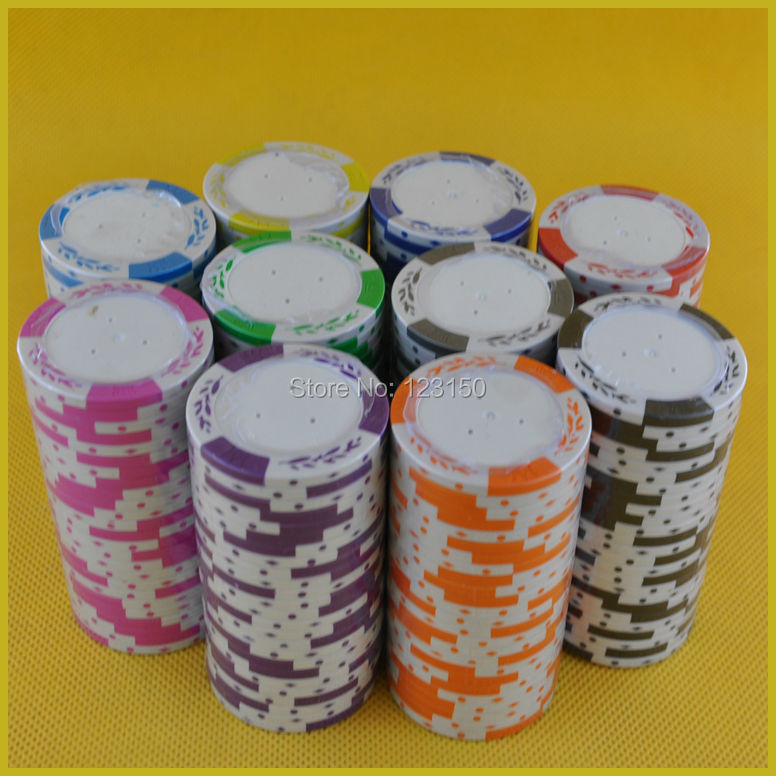PK-8001L Blank   Poker Chip, Diameter 43mm 15.5g/pc, 50pcs As A Lot, Free Shipping