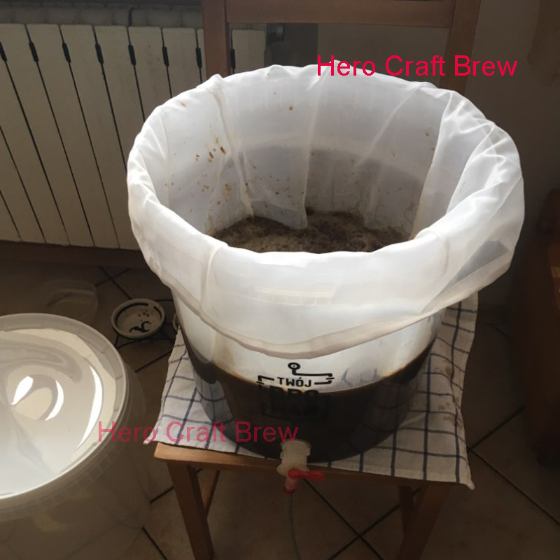 All Mash Tun Beer Brewing Bag For Kettle Home Brewer Mash Bag To Get Clear Wort Wine Making Can Be Customized image