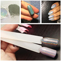 2g ESPEJO Holográfico Nail Powder POWDER UÑAS Chrome Nail Polish Nail Art Glitter Polvo de Pigmento En Polvo Láser Lentejuelas Unicornio