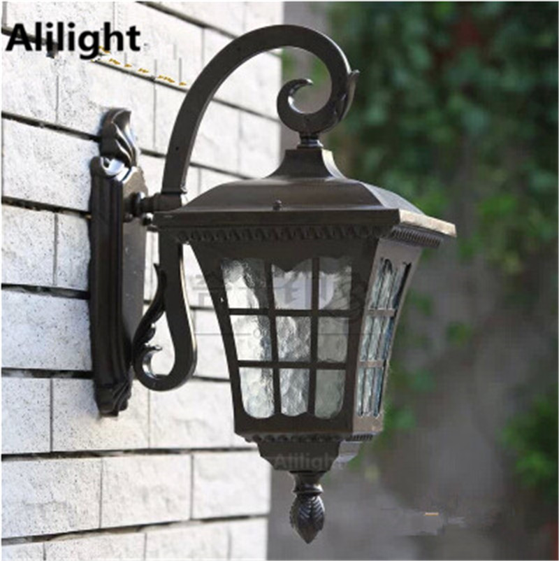 High quality outdoor lighting vintage wall lights fashion porch high quality outdoor lighting vintage wall lights fashion porch lamps waterproof porch lights 12w e27 led balcony garden sconces in led outdoor wall lamps aloadofball Choice Image