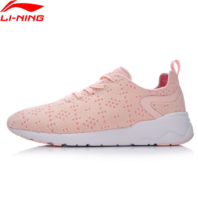 Li-Ning The Trend Walking Shoes Women Heather LiNing Li Ning Sports Shoes Breathable Light Comfort Sneakers AGCM076 YXB074
