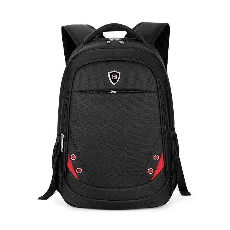 2017 Men& Women Laptop Backpack 15Inch Rucksack SchooL Bag Travel Waterproof Backpack Men Notebook Computer Bag Black +Free gift