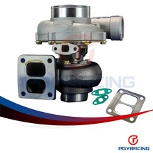 PQY STORE- HIGH QUALITY TURBO GT45R Turbo charger .70 cold,1.0 hot external w/g t4 flange TURBOCHARGER PQY-TURBO34