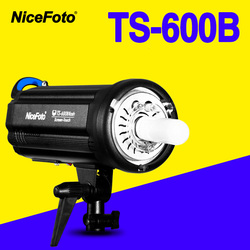 NiceFoto TS-600B 600W Studio Flash 2.4GHz built-in receiver TS600B Professional Studio photography studio light lamp