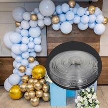 5/10/15m Latex Ballon Kette Gummi Hochzeit/Geburtstag Party Ballons Hintergrund Decor Ballon Kette Arch balony Ballon Dekoration