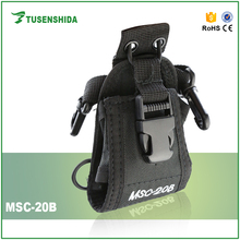 Nylon Universal Small Holster Carry Case Cover Bag MSC-20B for BAOFENG TYT WOUXUN Walkie Talkie Two Way Radio