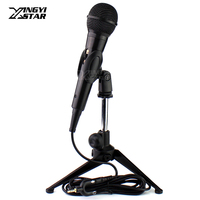 Smartphone Microphone Stand Tripod Desktop Mic Holder For iPhone 8s 7s 6s 5s 4s 4 5 6 7 8 s Plus Android Mobile Phone Telephone