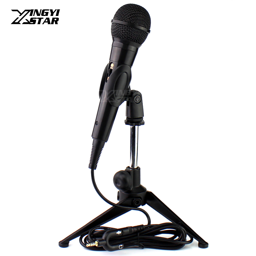 Smartphone <font><b>Microphone</b></font> Stand Tripod Desktop Mic <font><b>Holder</b></font> For iPhone 8s 7s 6s 5s 4s 4 5 6 7 8 s Plus Android Mobile <font><b>Phone</b></font> Telephone