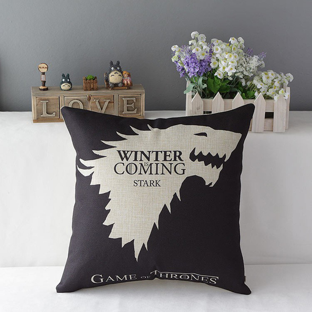 Game of Thrones Cotton Pillow  1