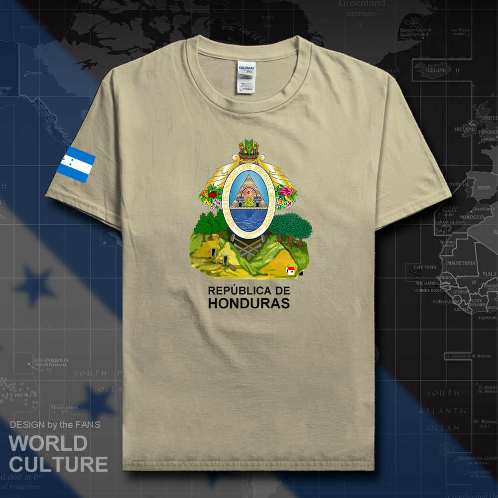 Honduras men t shirt fashion 2018 jerseys nation team 100% cotton t-shirts clothes country sporting HND Honduran Catracho new 20