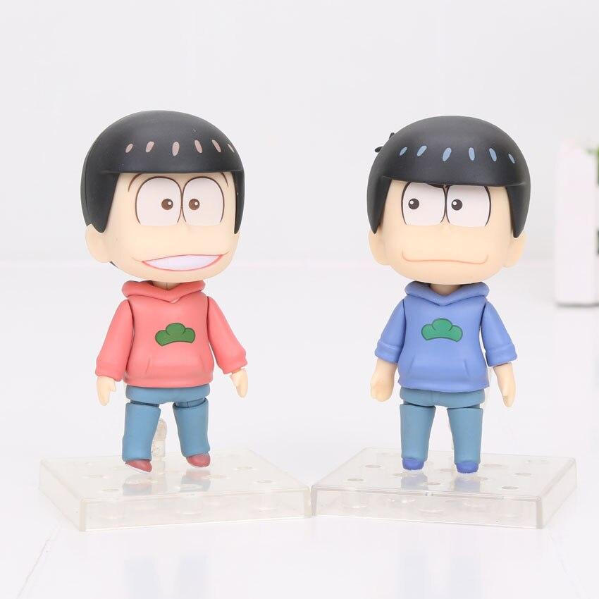 10 см Nendoroid osomatsu Сан-Matsuno osomatsu-сан-623 #624 # ПВХ фигурку Коллекционная модель игрушки