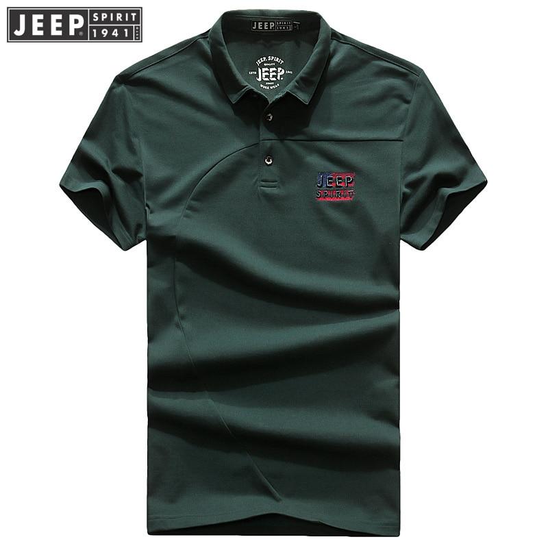 JEEP SPIRIT 2018-as férfi férfi nyári dzseki rövid ujjú póló, - Férfi ruházat