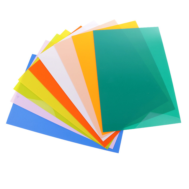 29x20cm Assorted Color Shrink Film Sheets Shrinkable Paper For DIY Charms Jewelry Hanging Decoration Heat-shrink Paper 1piece