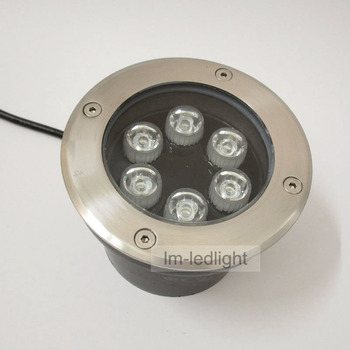 6W Led Outdoor Grounding Light Dia120mm 110V 120V 130V 220V 230V 240V IP67 Waterproof Utdoor Steps Free Ship 2pcs