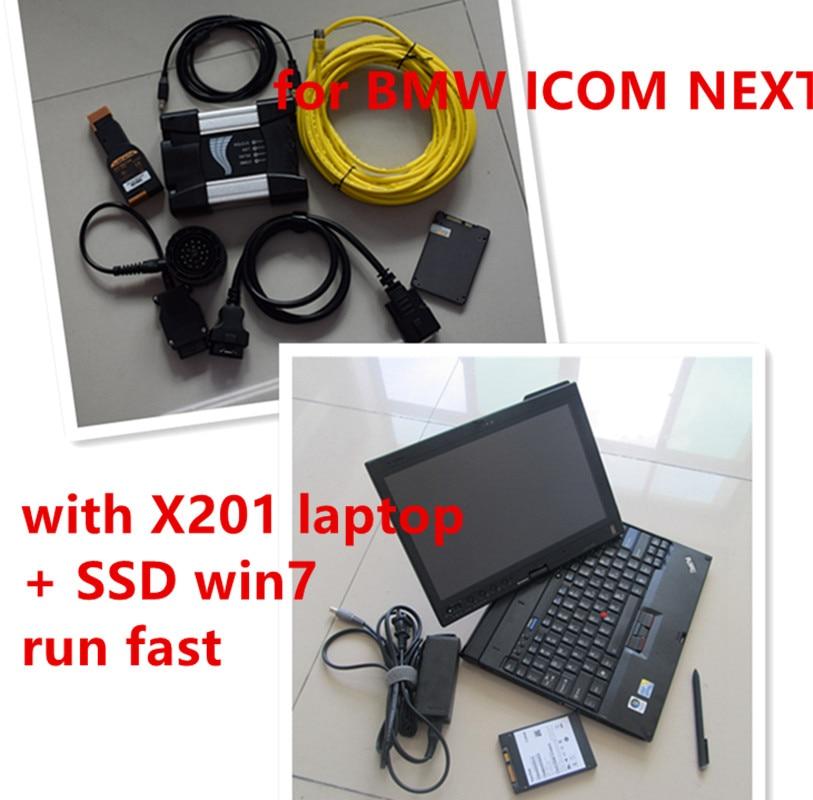2017-09 for BMW ICOM Next Diagnostic & Programming icom a2 next with SSD with Laptop for BMW ICOM Best Quality