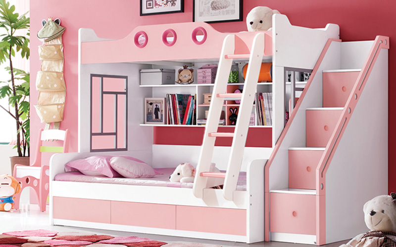 E1 Plywood Kids Bunk Beds Bedroom Sets Aliexpress