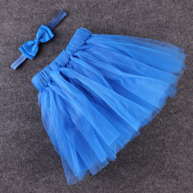 Cute-Kids-Girls-Toddler-Baby-Bow-Flower-Tutu-Skirts-Photography-Princess-Skirt-3