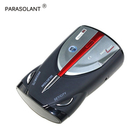 PARASOLANT XRS9880 Radar Detector Car Mobile Speed English Russian Mobile Electronic Dog Detector Radar Electronic Dog