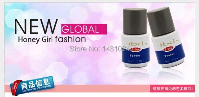 High quality nail art salon systerm IBD Bonder UV Nail Primer 0.5oz 14ML nails & tools nail uv gel