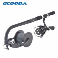 ECOODA Fishing Line Spooler Reel Spool Spooling Station System For Spinning Or Baitcasting Fishing Reel Line